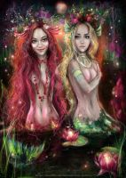 Mermaids by manulys