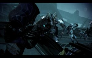 ME3 LDLC - Tali vs Reapers by chicksaw2002