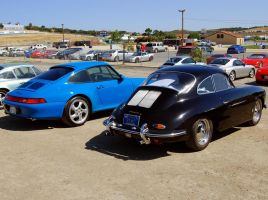 Carrera S Blue Turquoise 356 S by Partywave