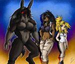 Profile - Jackie Valentine X Allure X Werejackal by Sephzero