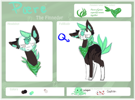 Finnedyr ref sheet: Paere by Earth-Call