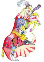 Kefka Commish by rempage