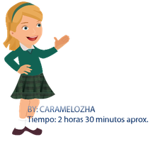 School Doll {PNG} by Caramelozha