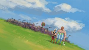The Gauls by the-astute-fool