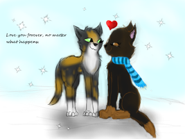Wolfhunt will forever love Mossfang by Blue-Ink-Splatter