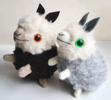 Sheep Llamas by creaturekebab
