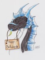 Bday gift for Draconigenae666 by ChibiMieze