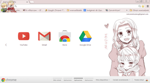 Fruk Theme google chrome by Nekomimiarthur