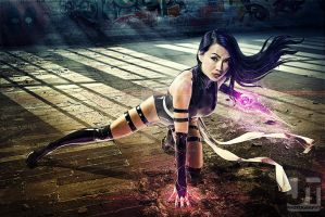 X-Force Psylocke by jaytablante
