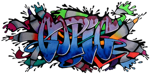 Copic Graffiti Style by Rhedrin
