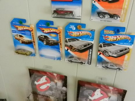 my DeLorean collection 2 by Olimar666
