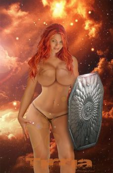 red sonja by TIRRIA7