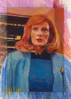 star trek tng 2 sketch card 8 by charles-hall