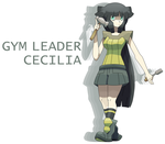 Gym Leader Cecilia by Smiley-Fakemon