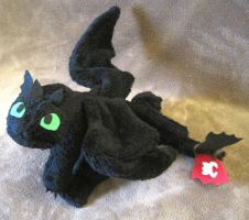 Night -Furry- plush by Skylanth