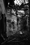 collapse, Larundel Mental Asylum by thespook