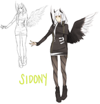 Sidony Concept Sketches by hyeuna