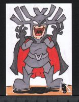 Vordak the Incomprehensible sketch card by PlummyPress