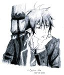AO NO EXORCIST, Rin Okumura -scetch- by Seizu-sha