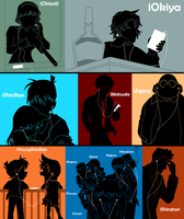 iPods of Detective Conan 5 by Mosflow