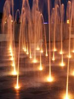 Orange Fountains by Just--Saying