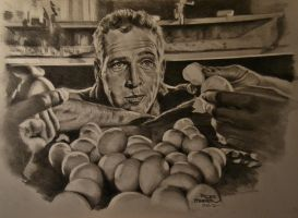 Paul Newman by MrEyeCandy66