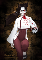 Commission: Tenten vampire by SoniaMatas