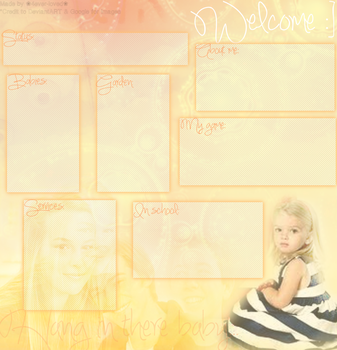 Good Luck Charlie Layout by Lovely-Lily1997