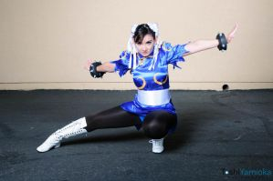 Street Fighter Chun-Li : Beauty Of Spring by CosplayKoneko