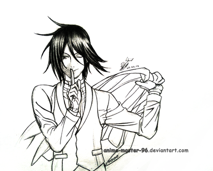 Sebastian -  Black Butler - Pencil by anime-master-96