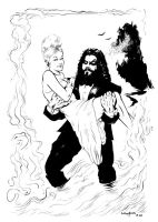 Rob Zombie Wedding Card by ColbyBluth