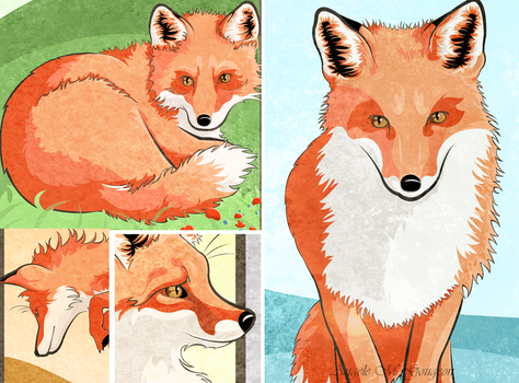 Season of the Foxes DETAILS by ScribalWriter