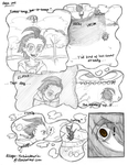 [Blank] page one (ZADR comic) by Mikage-YoshinoAnerin