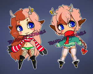 Twins Adopt Auction {CLOSED} by =TechSupportGirls