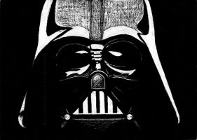 Darth Vader by KXZXW