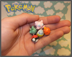 Pokeball Collection by Crazy8zCharmz