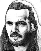 Qui-Gon jinn by mistermoster