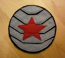 Winter Soldier Patch by ToastyLynx