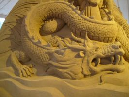 Sand sculpture 8 by Hoppiej