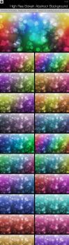 Large-PreviewHigh Res Bokeh Abstract Backgrounds W by HollowIchigoBanki