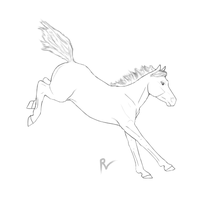 young jumper lineart by artisinmyheart101