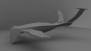 HK-Drone WiP - Body 02 by WilliamTownsend