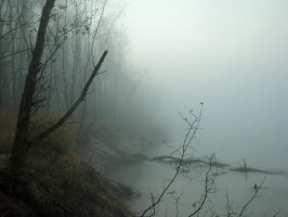 River and fog ... no. 2 by Gumista