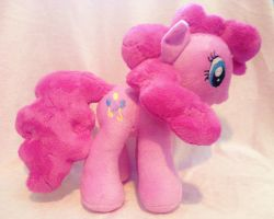 Pinkie Pie Pony Plush by Sparkle-And-Sunshine