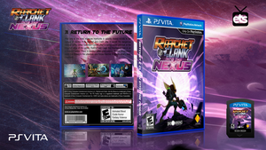 Ratchet and Clank Into The Nexus Cover (PSVITA) by ETSChannel