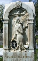 Mount Olivet Cemetery Angel 170 by Falln-Stock
