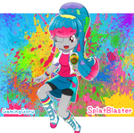 Art Trade for SplatBlaster - SplatBlaster OC by GamingGoru