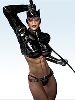Catwoman Sexy 3D by PGandara