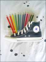 Converse Colors . by Mauve-et-g0ut