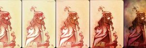 Process of a Fantasy Character by juanbauty